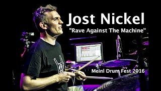 "Jost Nickel - ""Rave Against The Machine"" - Meinl Drum Festival"