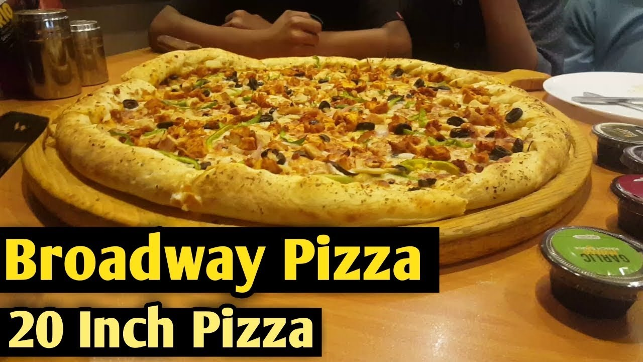 Broadway Pizza Food Review Owais Vlogs