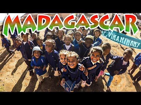 MADAGASCAR - Association ANSMFIS - Présentation de l'école de Vinaninony - Voyage humanitaire