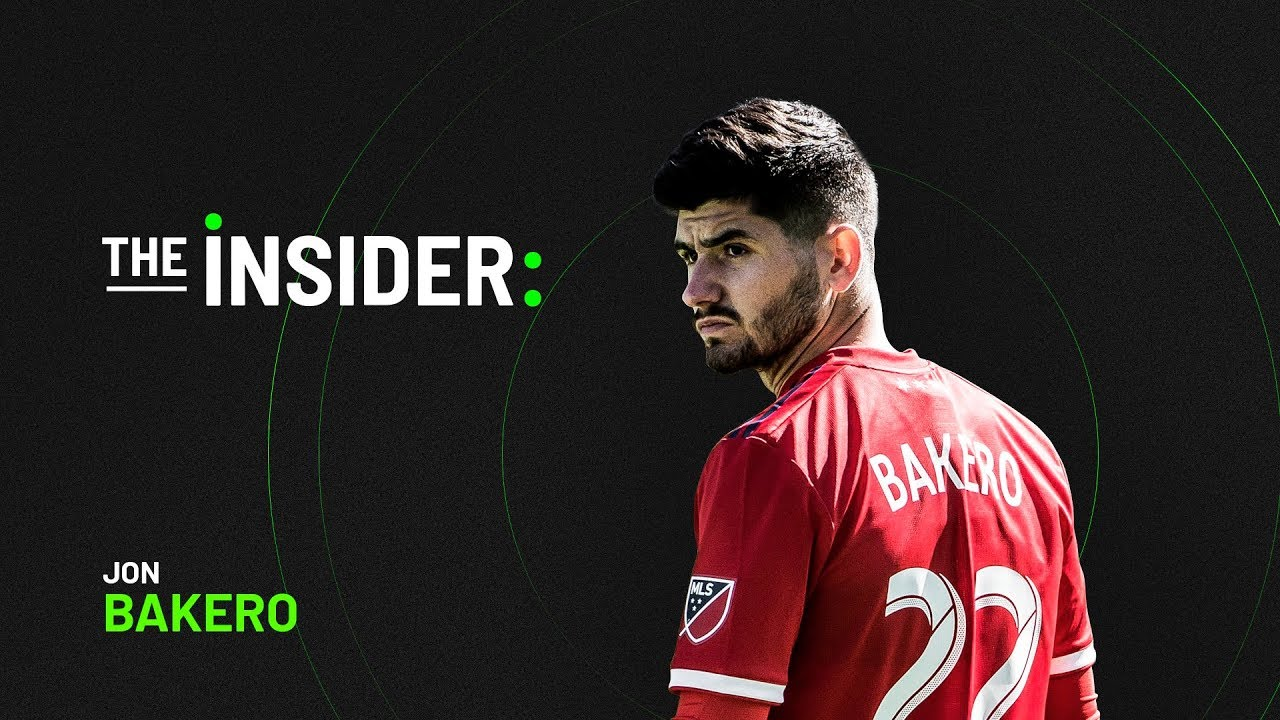 The Insider: Jon Bakero. Tattoos, Toronto FC and more