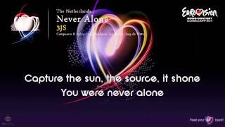 """3JS - """"Never Alone"""" (The Netherlands) - [Karaoke version]"""