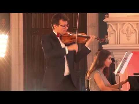 Turneul Stradivarius, Al. Tomescu si Sinziana Mircea, la Iasi. Sarasate.