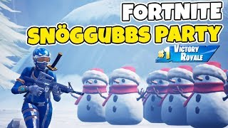 SNÖGUBBARNA HAR PARTY I FORTNITE *SPAMMA DOM MED RPG* Duo med POLSKI
