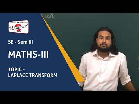 Diploma to Degree Maths III Class | Laplase Transform taught at Vidyalankar