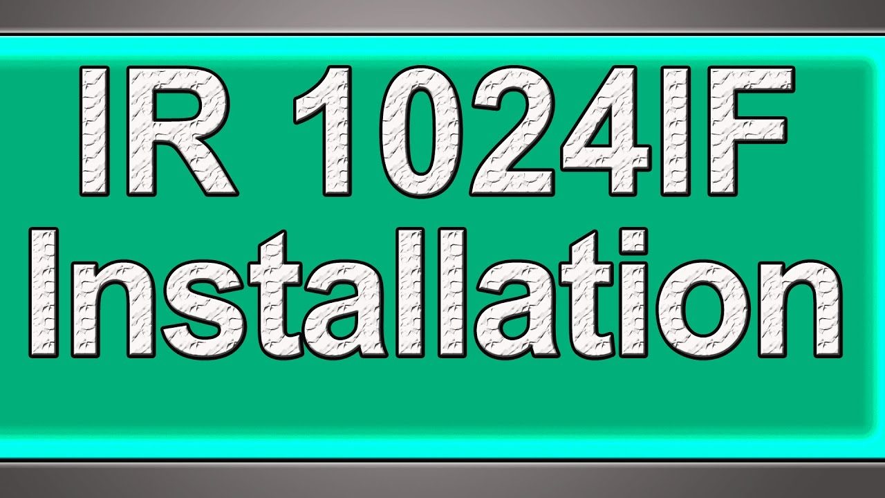 DRIVERS: IR1024 USB SCAN