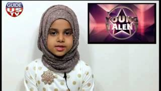 "Maryam is presenting Surah Al-Alaq as a ""Young Talent"" at GuideUS TV, USA (EP#1)"