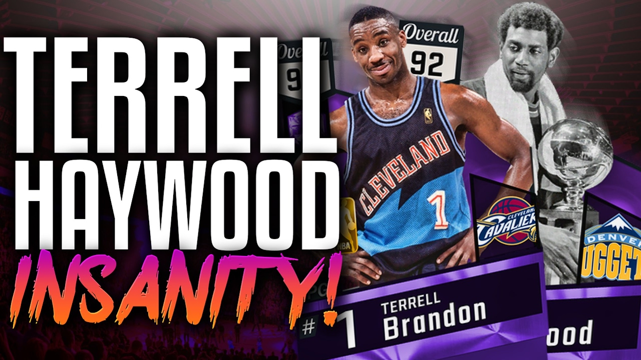 NBA 2K17 MYTEAM AMETHYST TERRELL BRANDON & SPENCER HAYWOOD