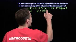 MATHCOUNTS Mini #40 - Sum and Average of an Evenly Spaced List of Integers