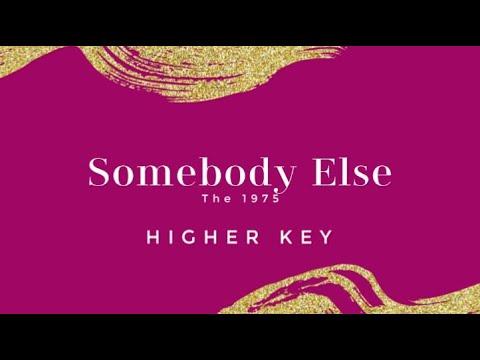 Somebody Else (Higher Key/Female Version) Piano Karaoke The 1975