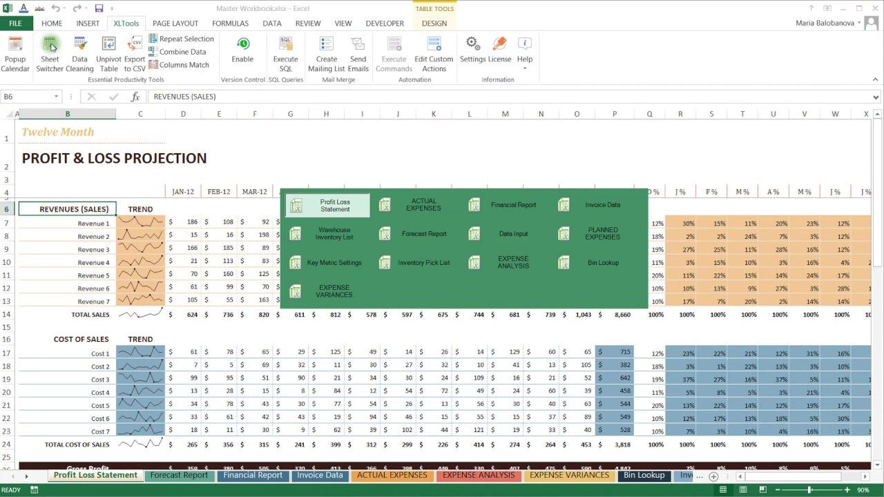 XLTools Guru Add-in for Excel | Office Productivity Tools