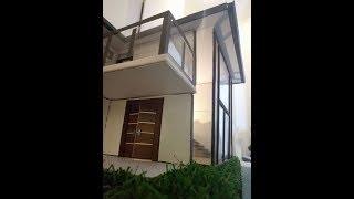 Modern Dollhouse | 1:35 scale | Modern House | Dollhouse | Cardboard dollhouse | Miniature House