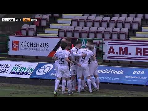 Dunfermline Alloa Goals And Highlights