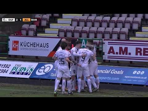 Dunfermline Alloa Goals And Highlights