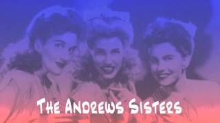 The Andrews Sisters - Along The Navajo (Trail with Bing Crosby)