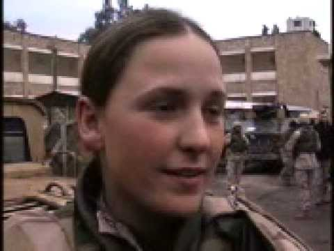 Female MP Soldiers in Iraq