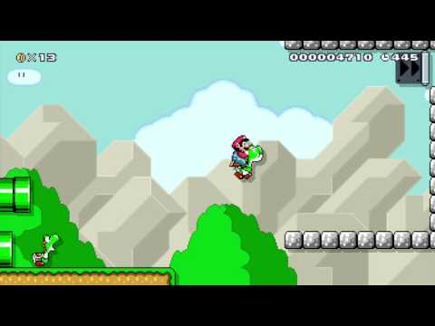 Super Mario Maker: Impossible Level