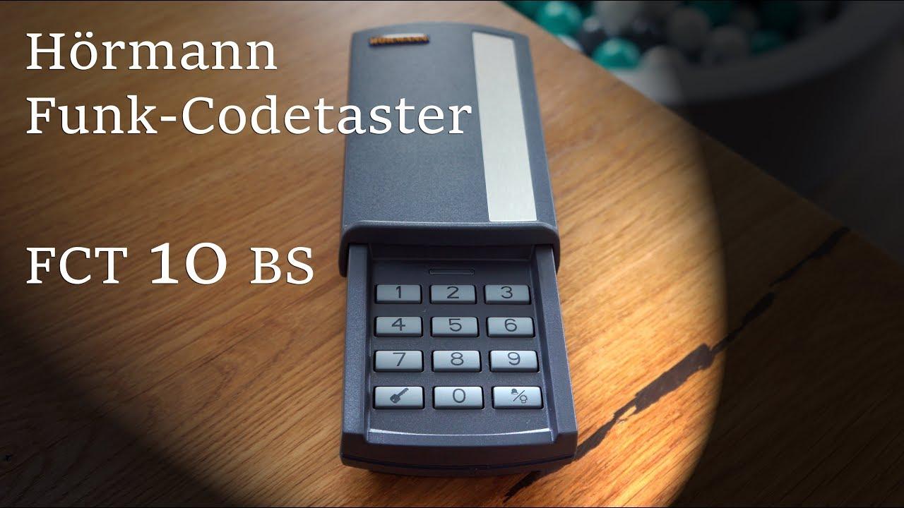 h rmann fct 10 bs funk codetaster pin code. Black Bedroom Furniture Sets. Home Design Ideas
