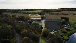 The Dram Drone Visits Macduff Distillery