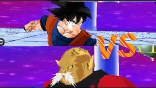 DBZ TTT Toppo vs Goku! Mod dbzttt