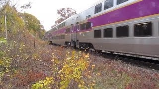 Stalking the Rotems: MBTA/MBCR Fall Railfanning