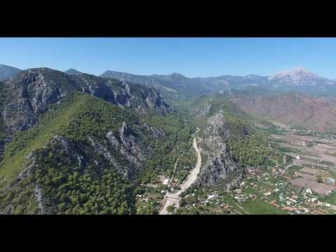 Çıralı, Turkey, Phantom 4 flight  4K recording
