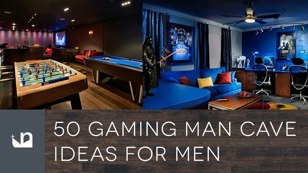 50 Gaming Man Cave Design Ideas For Men – Manly Home Retreats