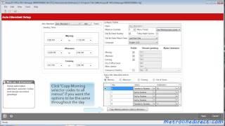 Avaya IP Office -  How to Program Auto Attendant on IP500
