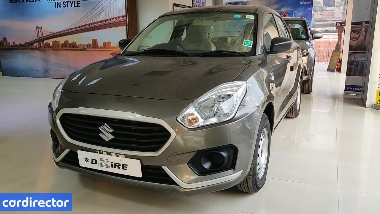 Maruti Suzuki Dzire LXi/LDi 2019 | Dzire 2019 Base Model | Interior and  Exterior | Real-life Review