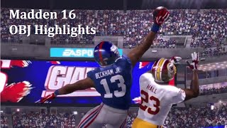 madden 16 obj highlights