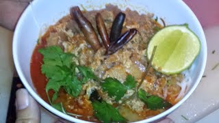 C/w Nana: Coconut Noodle Soup (ໝີ່ກະທິ == Mii Kathii) - 2015 Edit