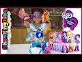 My Little Pony Equestria Girls Dolls and DJ Pon-3 Convertible Car