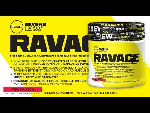 Must watch gnc ravage review youtube gnc ravage review malvernweather Images