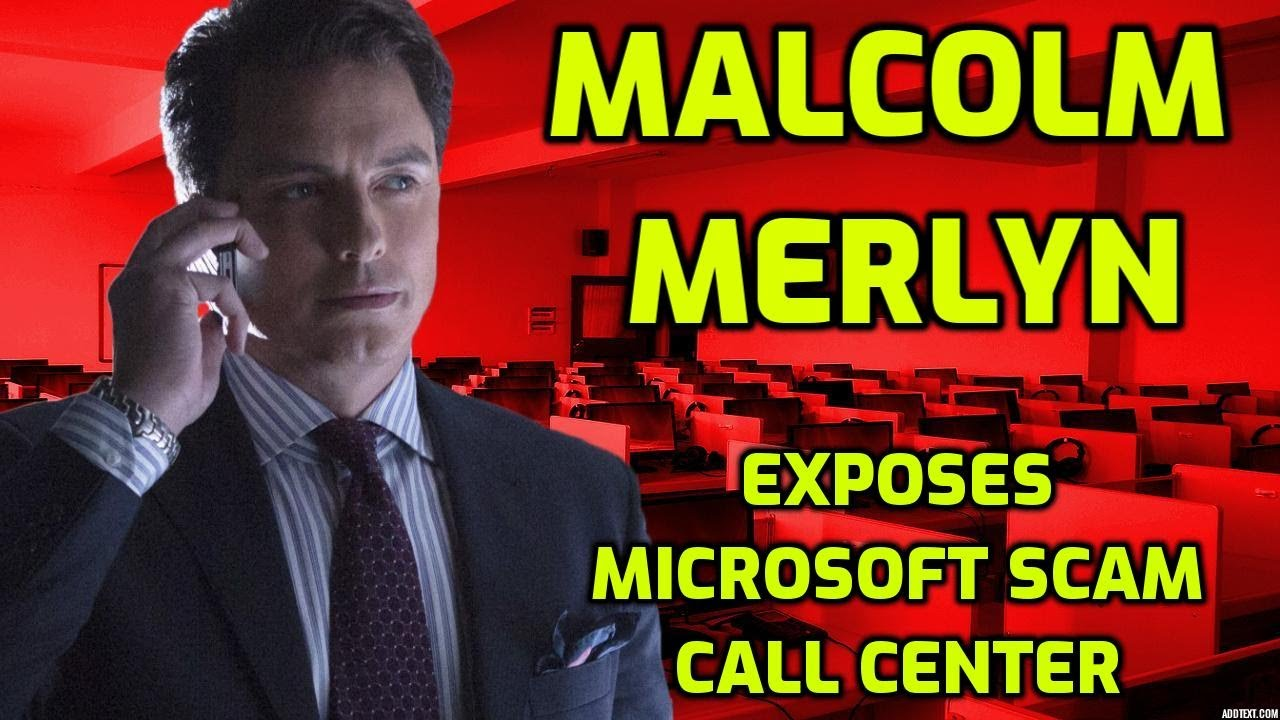 A.I. Calls Microsoft Scammers - Scam Call Center EXPOSED!