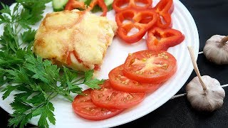 Картофельная запеканка с фаршем и помидорами