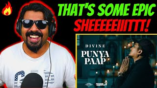 DIVINE Punya Paap Reaction Video | Divine New Song | Divine Latest Song | Punya Paap Reaction| AFAIK