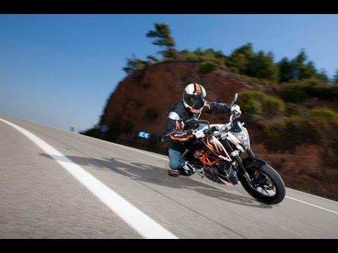 KTM 390 Duke 2013 | Insiderinfos-Fahrszenen