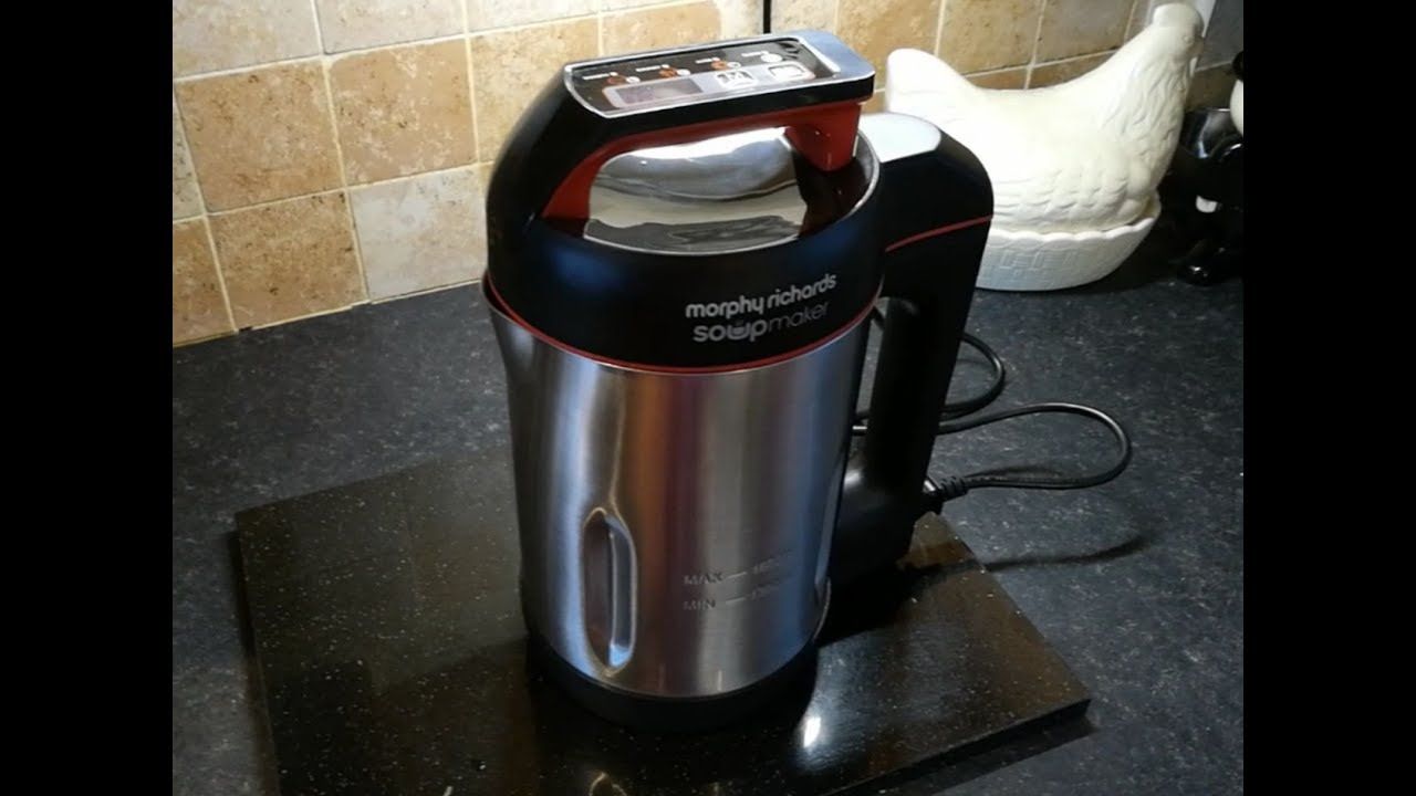 Morphy Richards Soup Maker unboxing, first use and review