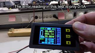 First Look: Wireless RV Battery Monitor from Ming He (Drok) 120V 300A