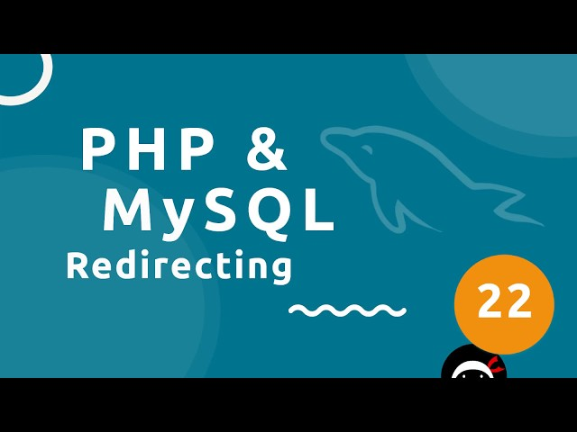 PHP Tutorial (& MySQL) #22 - Checking for Errors & Redirecting