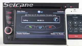 2002 2008 audi a4 s4 rs4 b5 b6 b7 radio stereo removal upgrade to in dash dvd player with swc mp3 ip