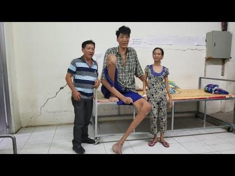 Tiến hành đo người cao nhất Việt Nam 2018