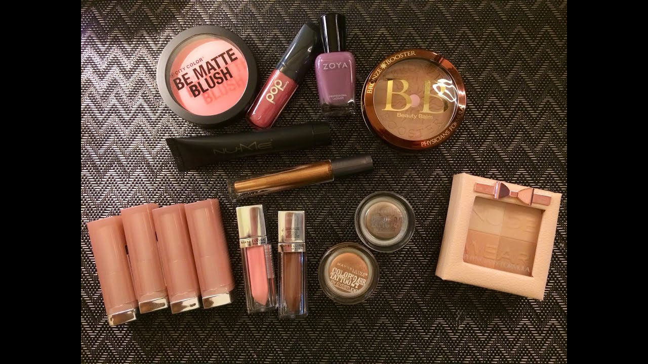 February 2014 Ipsy Maybelline Dare To Go Nude Spring 2014