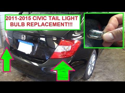 2013 Wrangler Fuse Box Honda Civic Tail Light Brake Light Rear Turn Signal Light