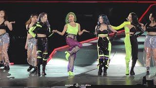 Idol Kpop MAMAMOO Solar xé áo khi cover Fire của BTS