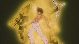 Caballeros del zodiaco | Seiya porta por primera vez la armadura dorada | thumbnail