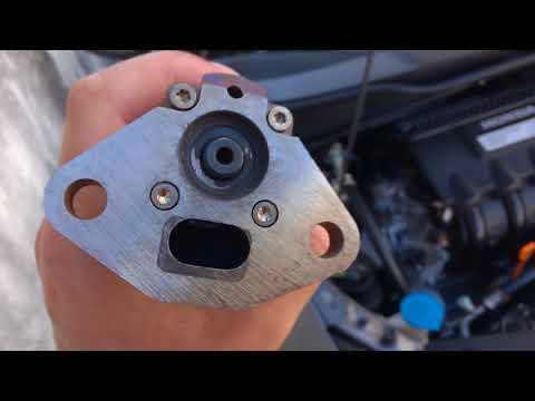 Honda Insight - клапан ЕГР