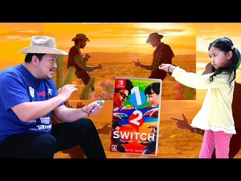 任天堂スイッチ☆1-2-Switch (ワン・ツー・スイッチ)親子でゲーム実況プレイ♡himawari-CH