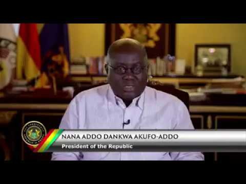 PRES. AKUFO ADDO'S EASTER MESSAGE TO GHANAIANS
