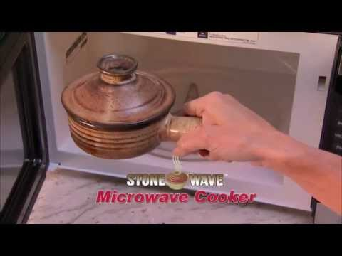 stone wave microwave cooker instructions