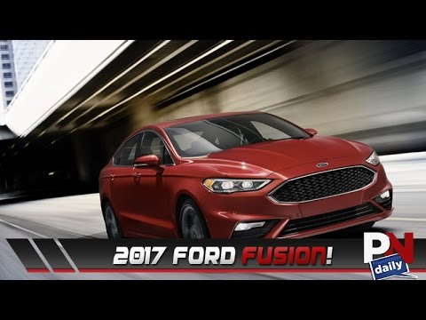The Stats For 2017 Ford Fusion Are In And They Re Impressive